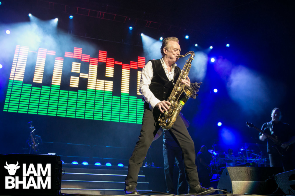 Brian Travers at the UB40 Christmas Concert