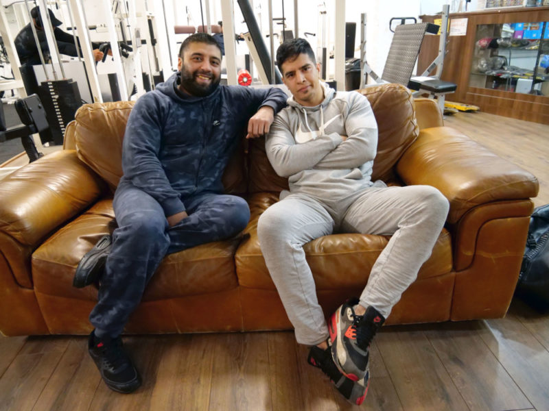 Behram Khan and Ali Khan are friends for life who workout together in Small Heath