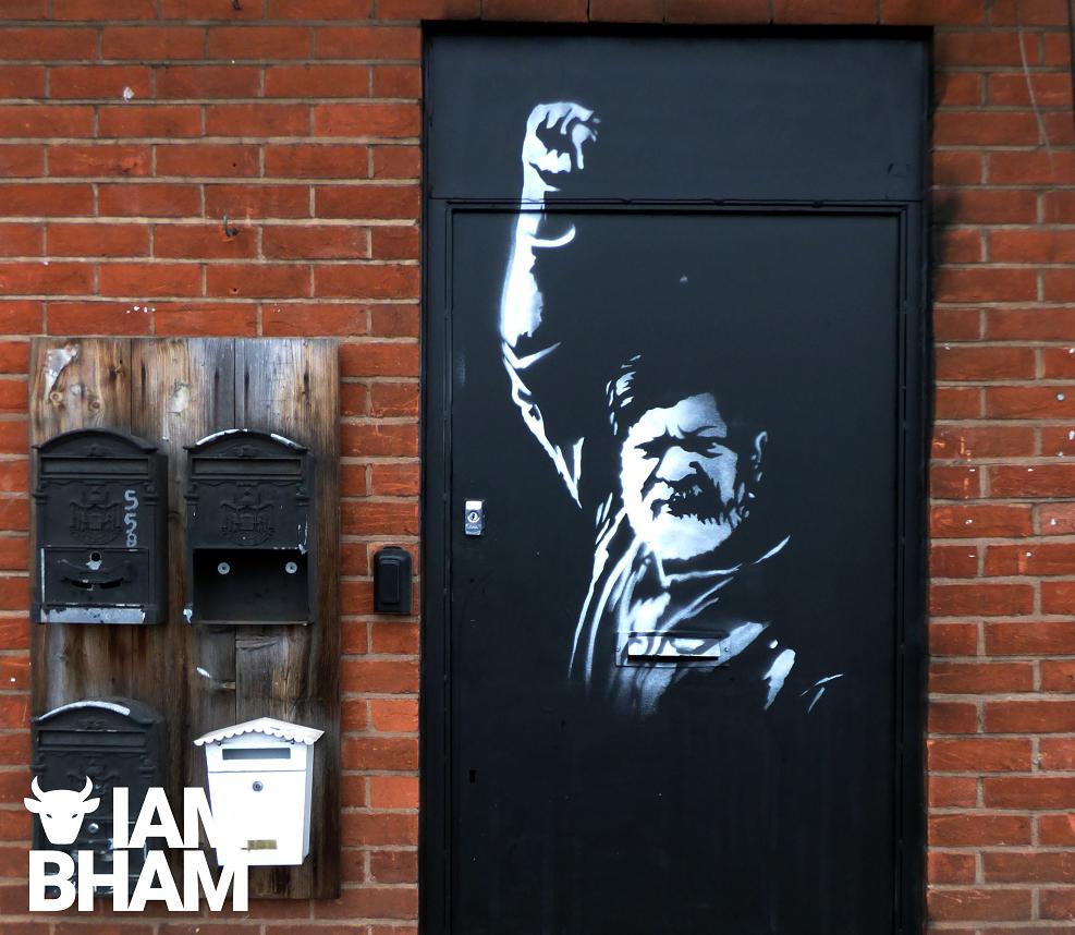 New Brum street art highlights the jailing of photojournalist Shahidul Alam in Bangladesh
