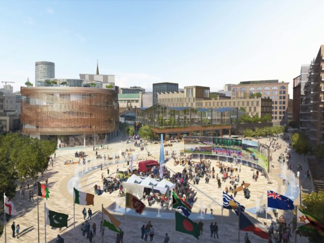 Lendlease proposed image of redeveloped Smithfield site