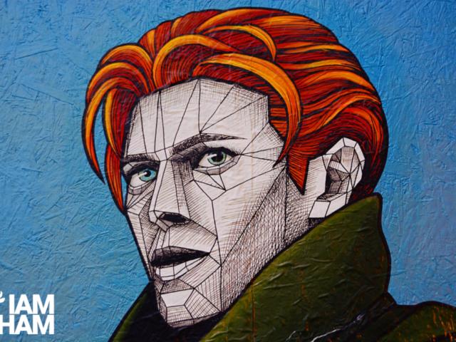 New street art celebrating David Bowie appears in Birmingham