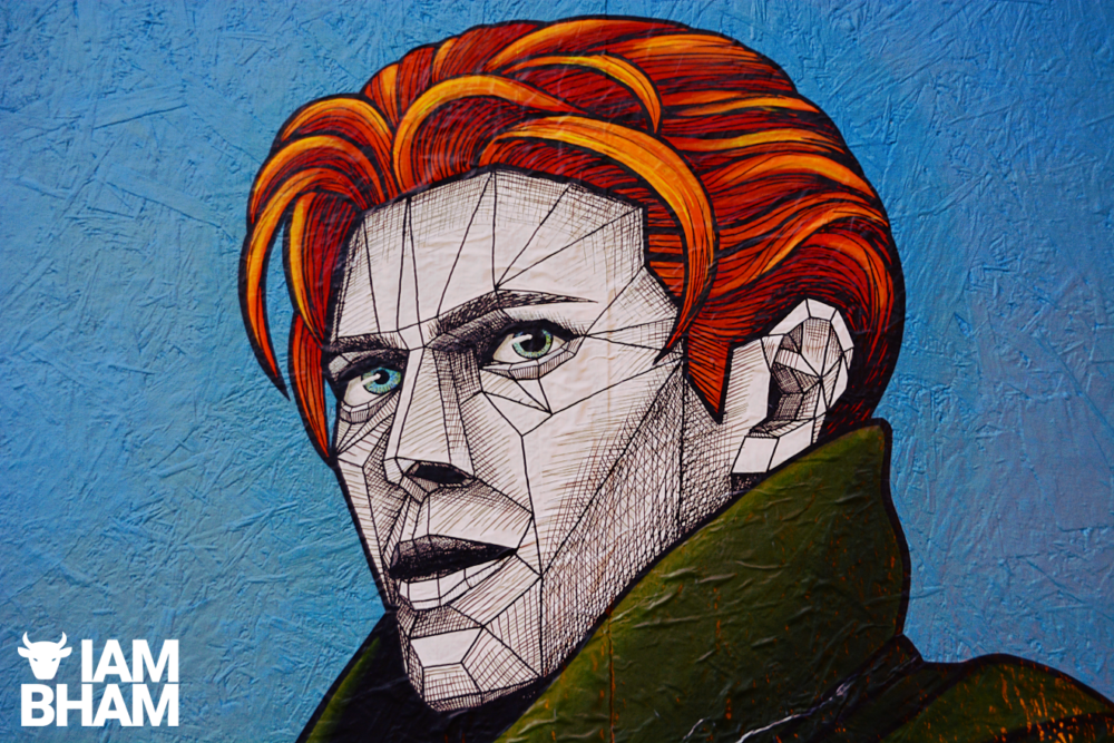 New street art celebrating David Bowie appears in Birmingham