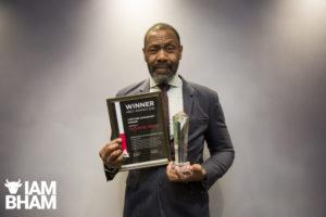 Lenny Henry receives Lifetime Honorary Award in Birmingham