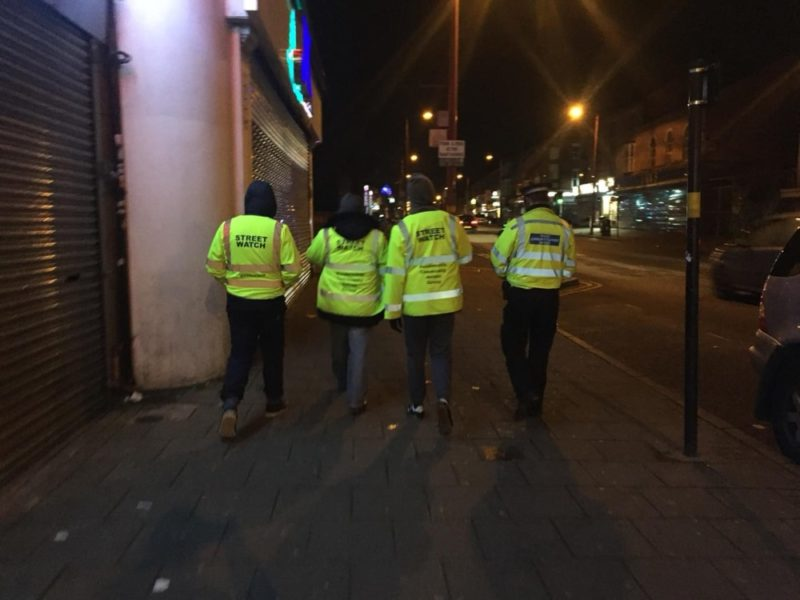 The Handsworth Community Action Group HCAG on street patrol