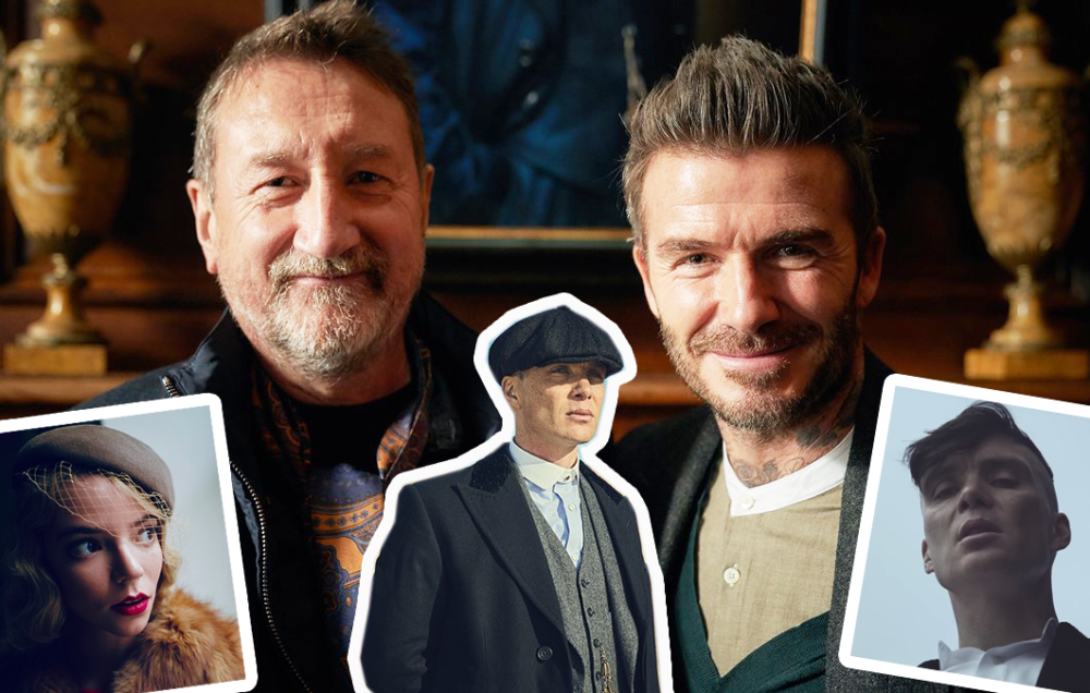David Beckham gets Peaky Blinders set tour as filming on Series 5 wraps up!