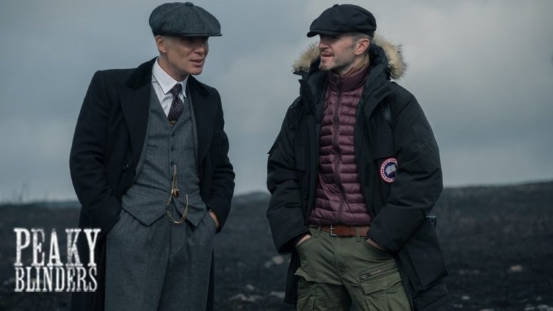 Filming on series 5 of Peaky Blinders