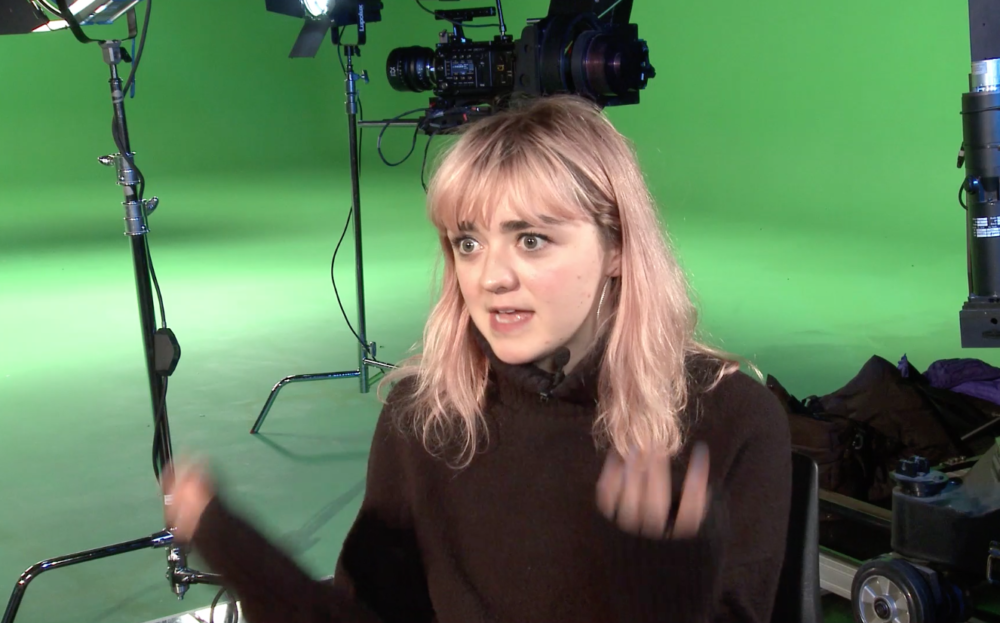 VIDEO: Game of Thrones star Maisie Williams visits Birmingham City University