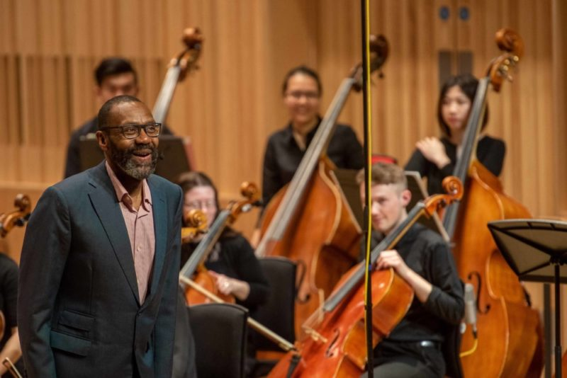 Sir Lenny Henry is the Chancellor of Birmingham City University