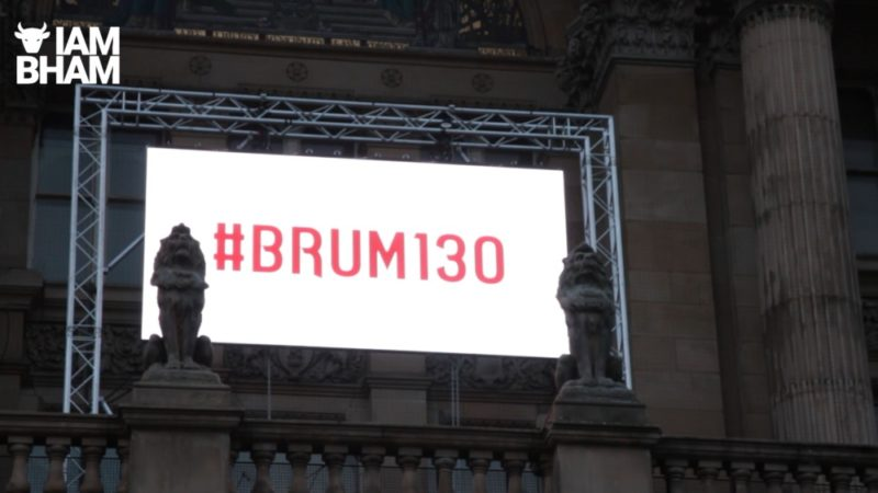 Brum130 was an official celebration to celebrate 130 years of Birmingham