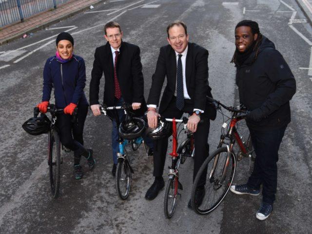 Imandeep Kaur, Andy Street, Jesse Norman MP and Daniel Blyden