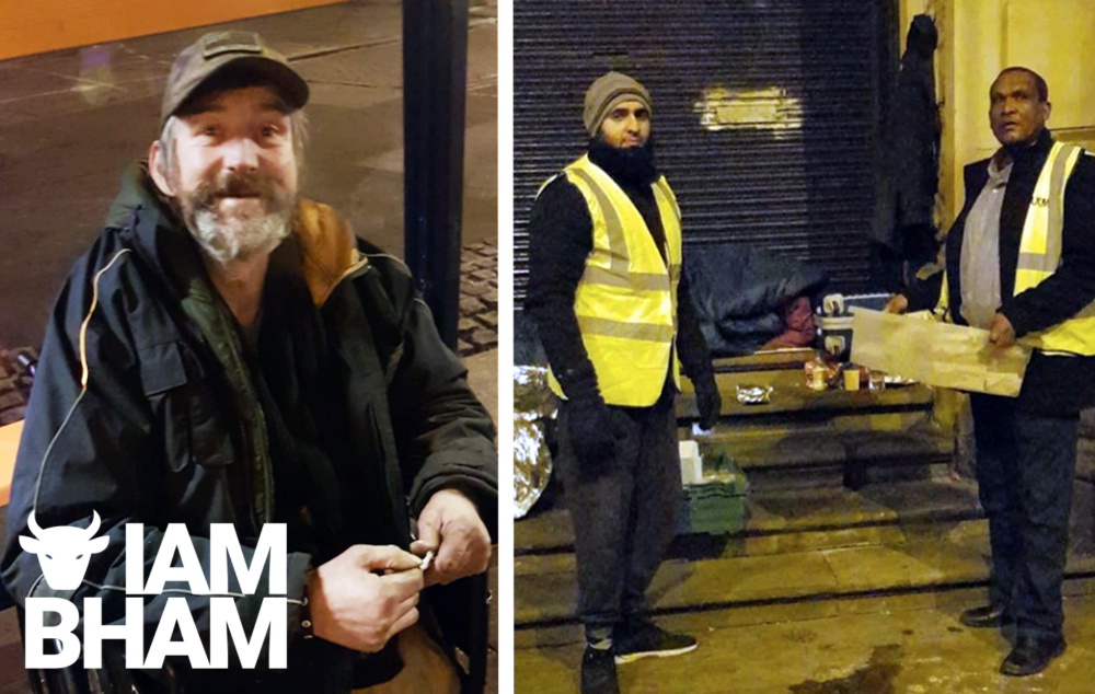 Birmingham mosque opens its doors to city homeless as temperatures plunge