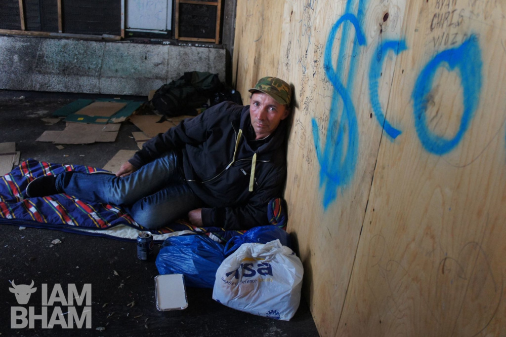 Almost 24,000 people in West Midlands are homeless, according to national charity