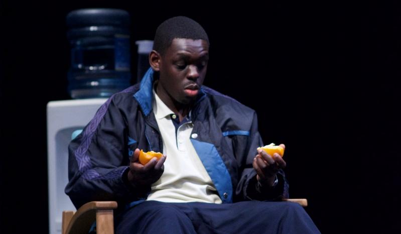 Ivan Oyik as Christopher in Blue/Orange