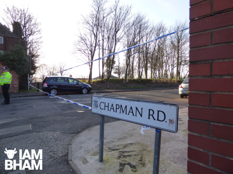 Chapman Road and Herbert Road corner have been been sealed off as police conduct an investigation