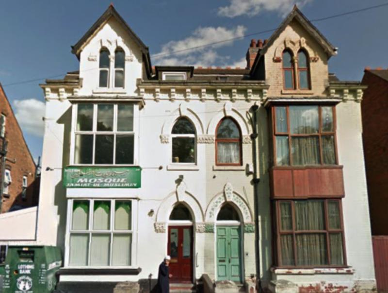 The Tennyson Road Mosque in Small Heath, Birmingham