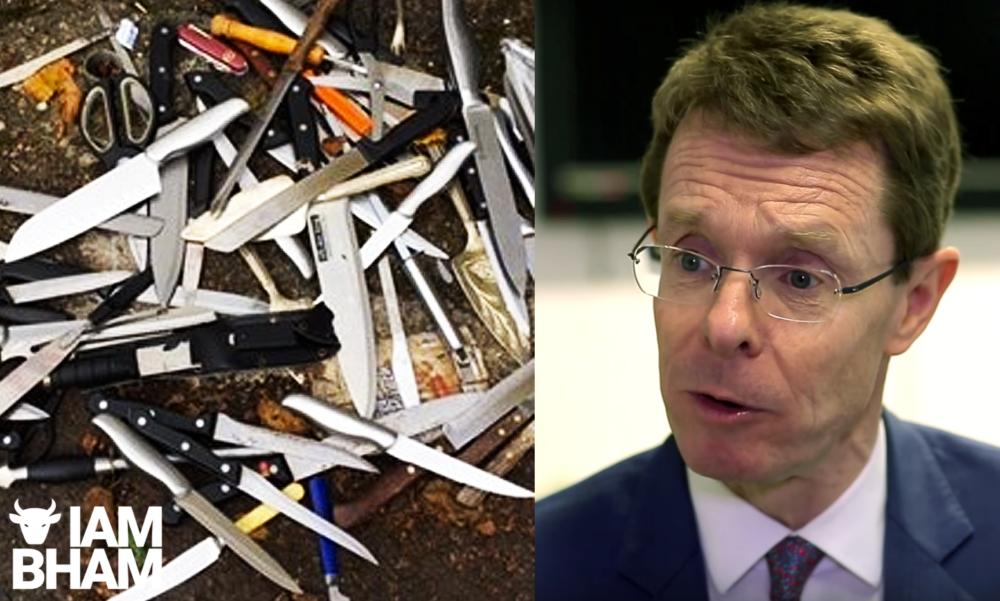 "Birmingham knife crime surge ""unprecedented"" says West Mids mayor Andy Street"