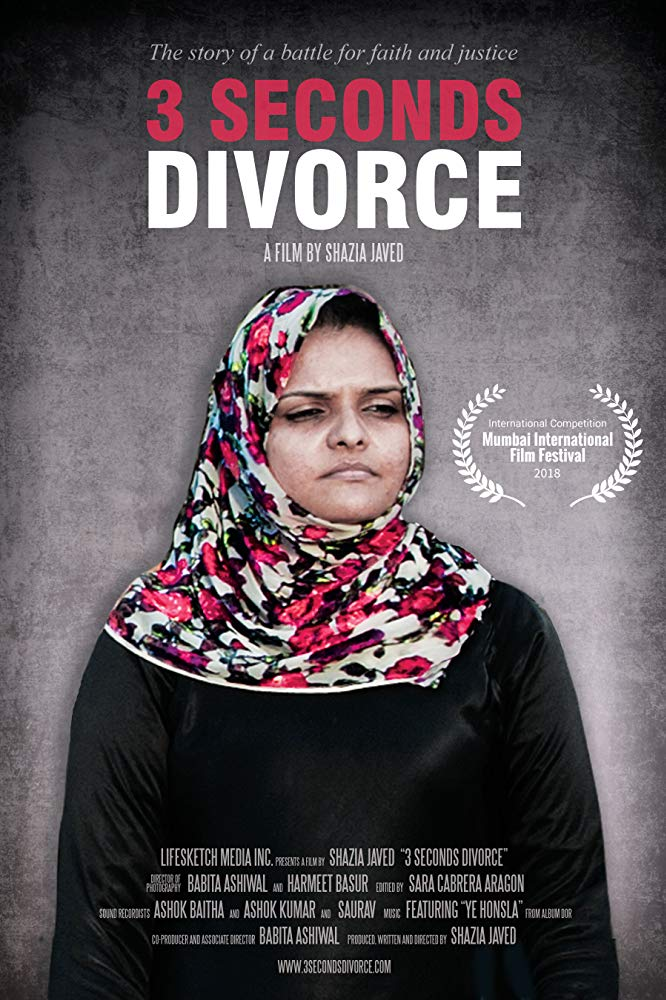 3 Seconds Divorce explores the Islamic concept of 'triple talaq' and its impact on Indian Muslim women