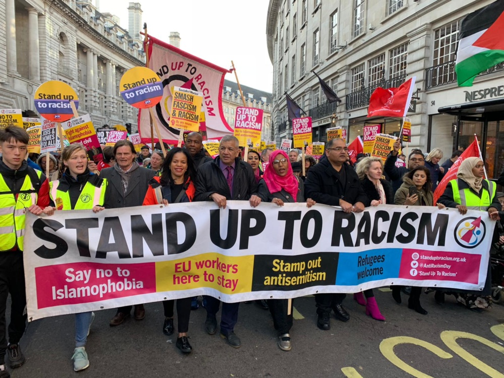 London anti-racism demonstration cancelled as UK plans to ban mass gatherings over coronavirus fears
