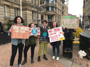 Birmingham students strike from school to protest lack of climate change awareness