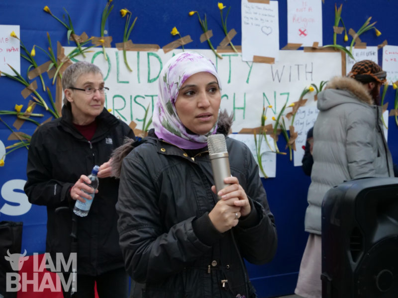"Community activist Salma Yaqoob has condemned the attacks as ""anti-Muslim hate"""