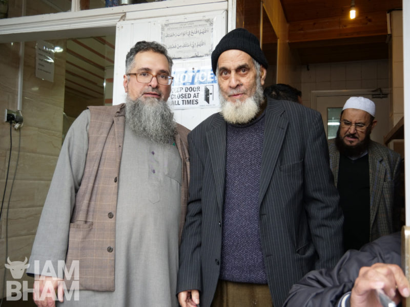 Members of the Witton Road Islamic Centre have expressed concern for their safety following the sledgehammer attacks