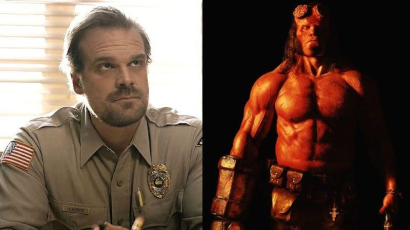 Stranger Things and Hellboy star David Harbour will also be attending MCM Comic Con London