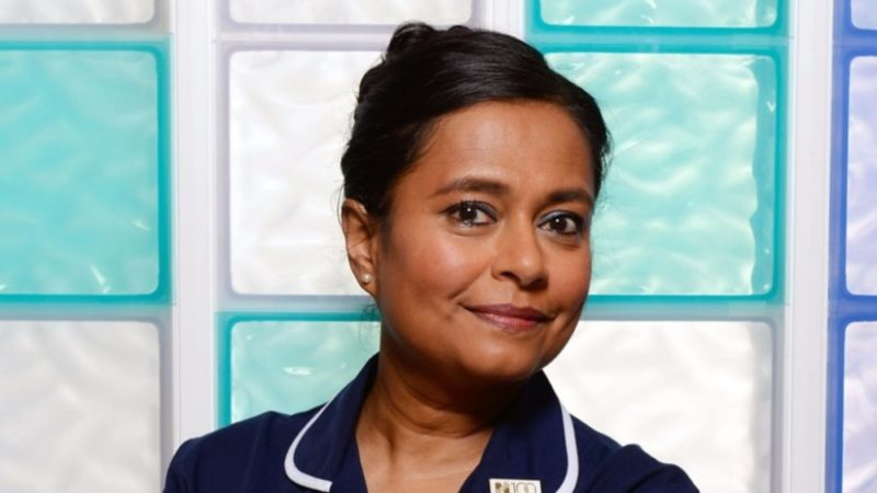 Bharti Patel as Ruhma Hanif on BBC Doctors