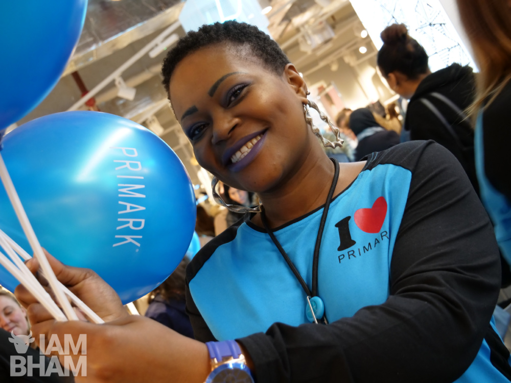 World's biggest Primark store opens in Birmingham to thousands of shoppers
