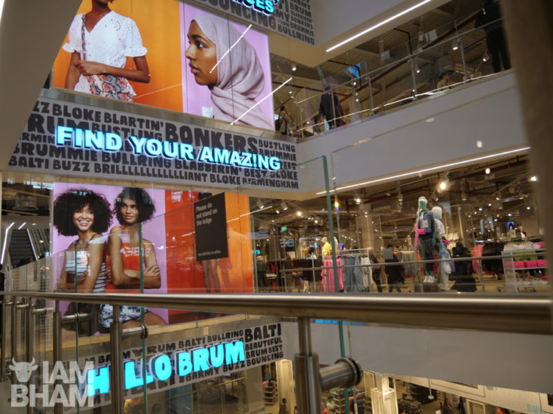 The new store cost £70 million, has five floors and employs nearly a thousand people