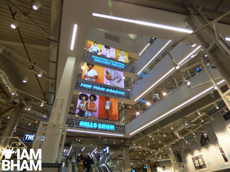 The new flagship Primark store in Birmingham is the largest Primark in the world