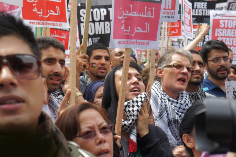 Palestine demonstration in London in 19th July 2014 by Adam Yosef