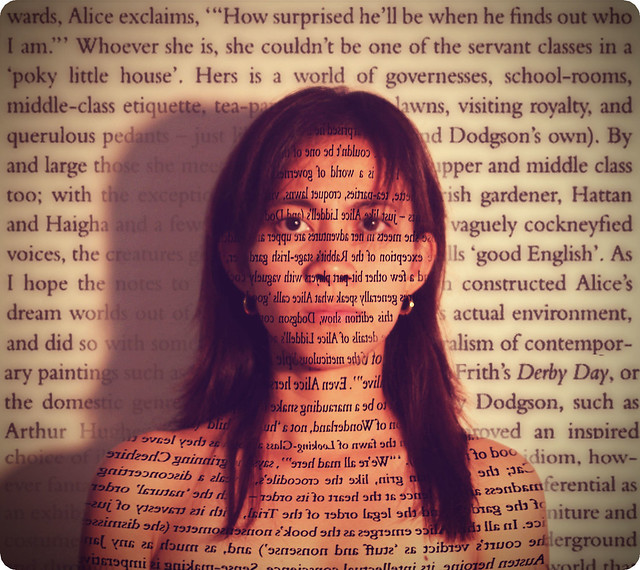 An artistic impression of dyslexia
