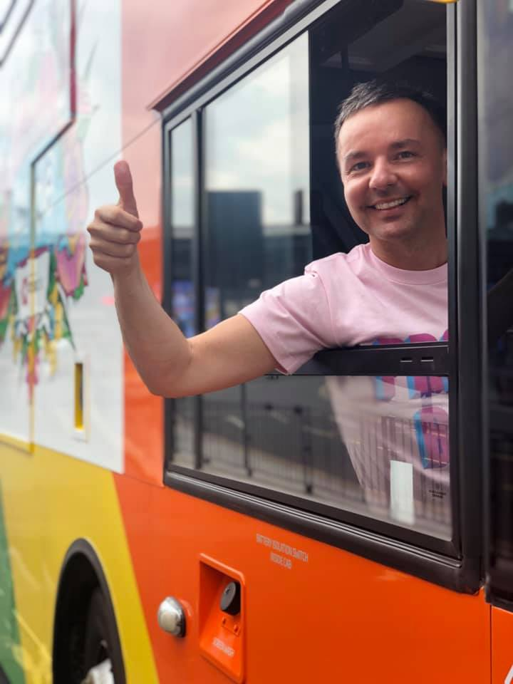 National Express West Midlands has a LGBTQ+ rainbow revamp for Birmingham Pride 2019