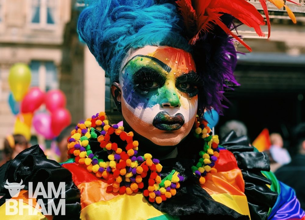 10+ photos of daring Drag Queens during Birmingham Pride! 🔥