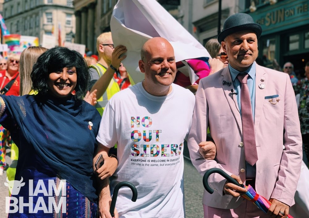 Moffat, Muslims and Mardi Gras: Thousands turn out for record-breaking Birmingham Pride!