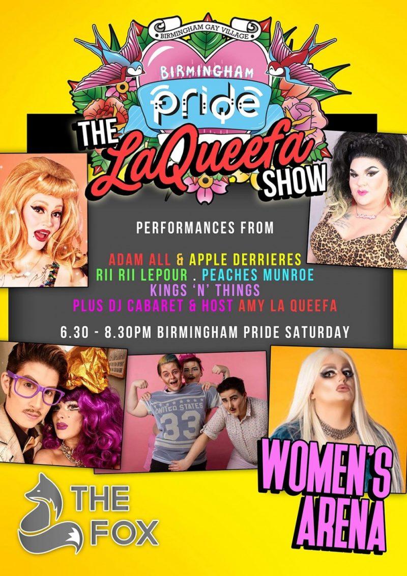 Birmingham Pride 2019 Womens Area