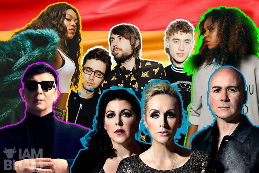 Here's the Main Stage line-up for Birmingham Pride 2019!