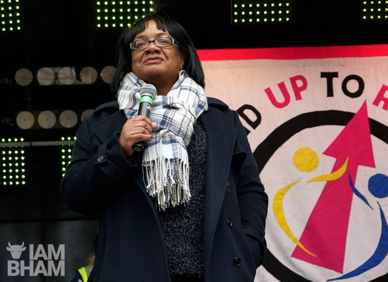 Diane Abbott MP will be attending the National Demonstration for Palestine on Saturday