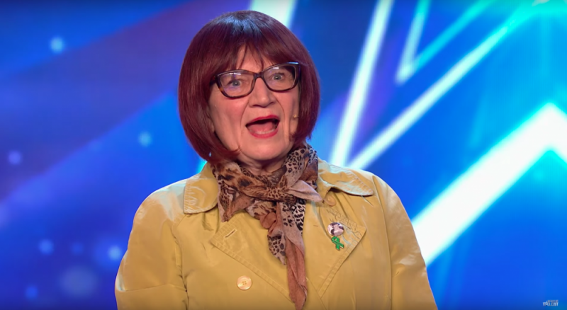 Janice Connolly on Britain's Got Talent as alter ego 'Barbara Nice'