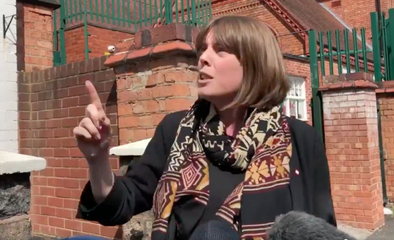 Jess Phillips MP challenges anti-LGBT equality protest organiser Shakeel Afsar