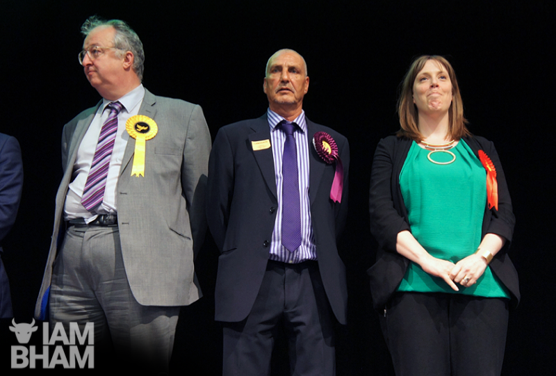 Jess Phillips upon hearing she had won the Birmingham Yardley Parliamentary seat in May 2015