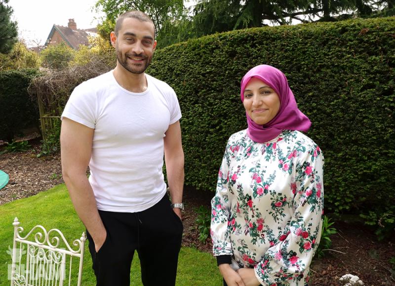Lowkey Kareem Dennis and Salma Yaqoob in Birmingham by Adam Yosef