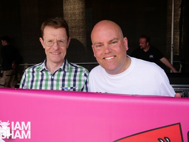 West Midlands Mayor Andy Street with