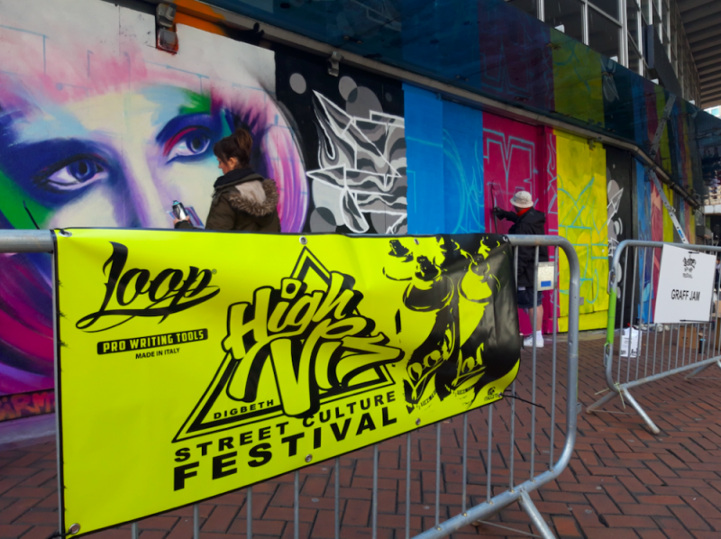 The upcoming High Vis Festival was part of this year's B-Side Hip Hop Festival in Birmingham