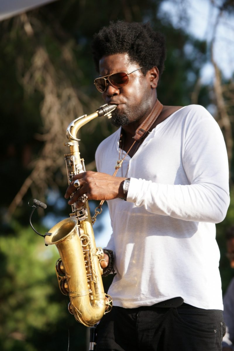 Soweto Kinch at the Festival off Juan-les-Pins on 22 July 2011 Photo by Dacoucou Wikimedia