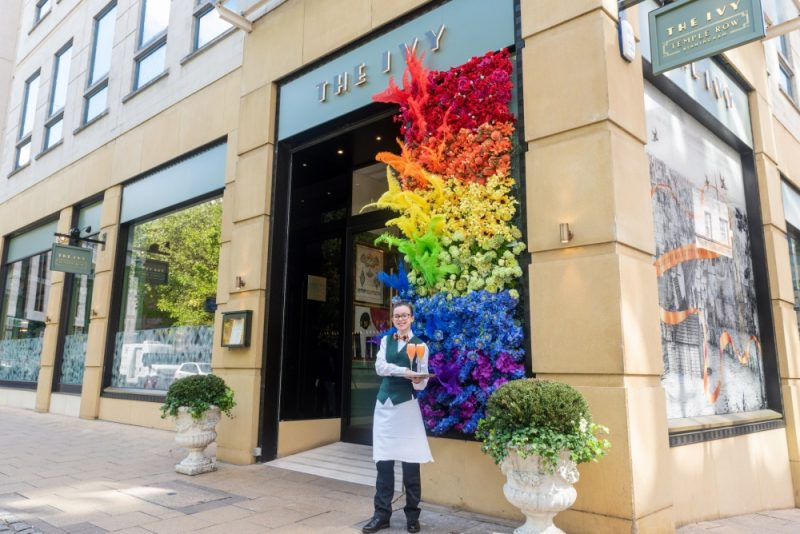 The Ive Temple Row has installed a 10ft art installation ahead of Birmingham Pride