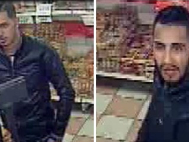 Detectives want to trace this pair after a man was knocked unconscious and robbed in Birmingham city centre