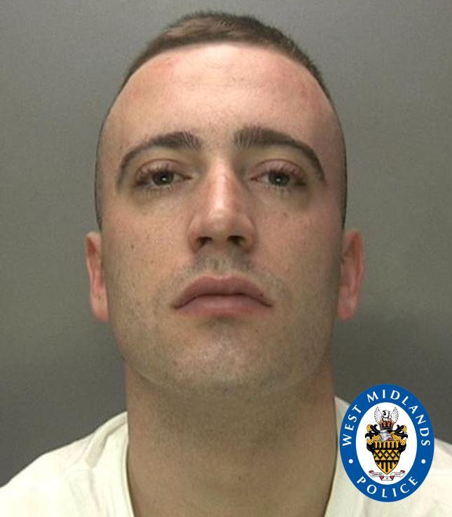 Jordan Bassett, aged 25, was quickly identified as the killer