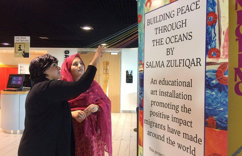 Refugee Week 2019 Artconnects with Salma Zulfiqar