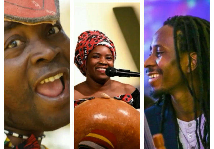 Refugee Week 2019 JAZZLINES FREE GIGS- RUSH HOUR BLUES Africa-Calls-Trio-Gaobi-Millicent-Malick